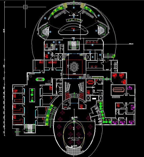 پروژه هتل 24 طبقه