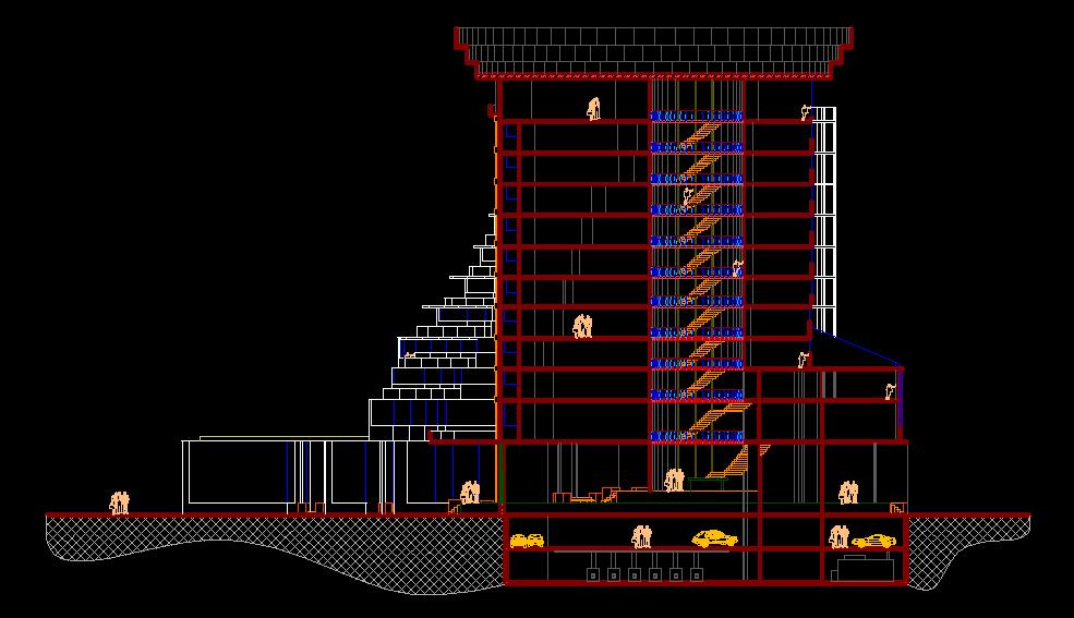 دانلود پروژه هتل 11 طبقه
