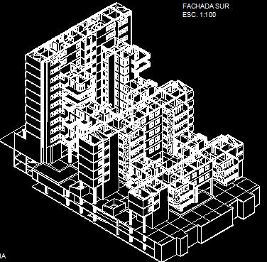 پلان مسکونی سیزده طبقه مدل 17